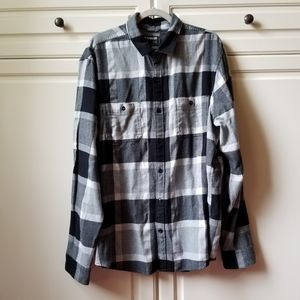 Nwt Express Flannel Shirt Plaid Mens XXL